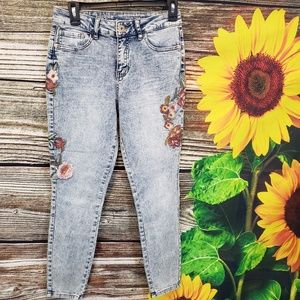 Hippie laundry high rise skinny jeans